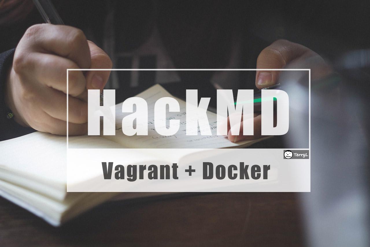 建立個人用的 Markdown 筆記只要幾分鐘,使用 VirtualBox + Docker + HackMd (CodiMd)